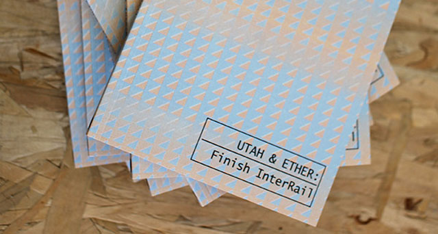 Utah & Ether | Finish InterRail Zine