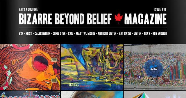 Revista   Bizarre Beyond Belief #16