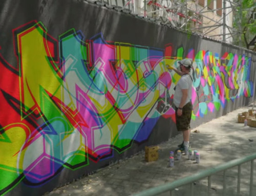 ACHES: THE TRIPPIEST GRAFFITI EVER
